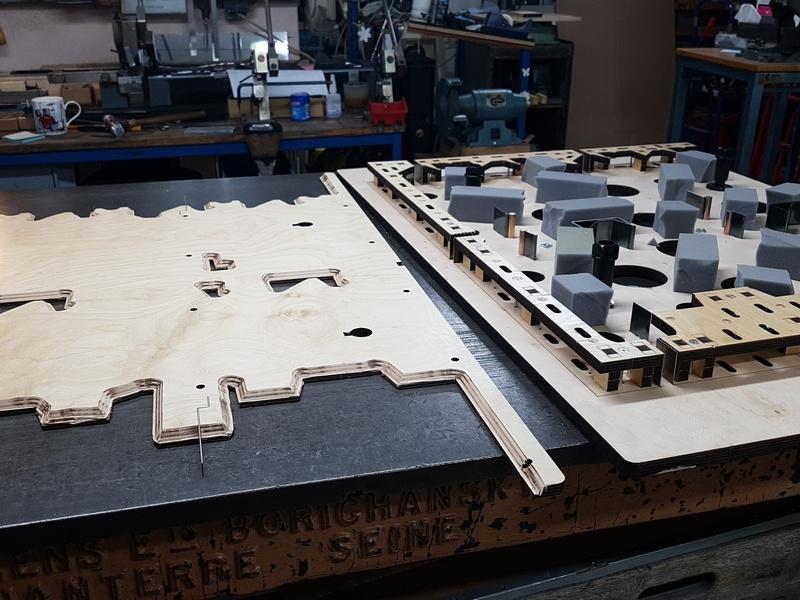 Fabrication de l'outil de découpe